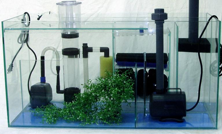 Fish tank filter types