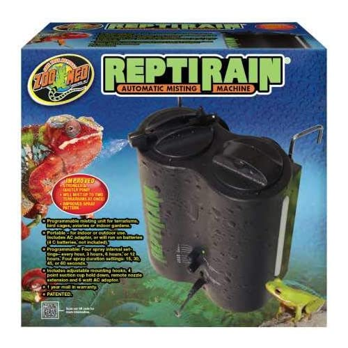 The 18 Best Reptile Humidifiers & Foggers Reviews & Guide 2020